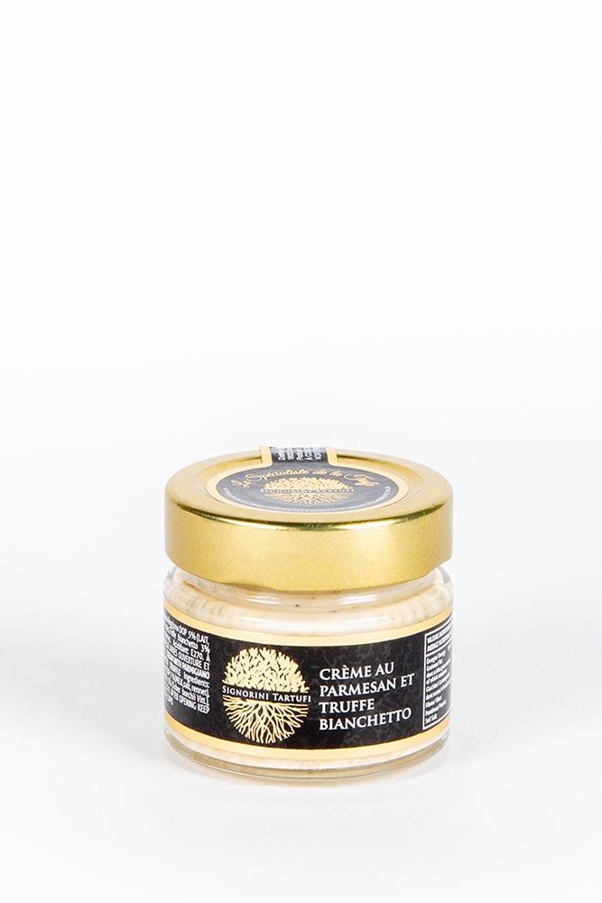 creme au parmesan et truffe bianchetto-creme de truffe-truffe bianchetto-signorini tartufi