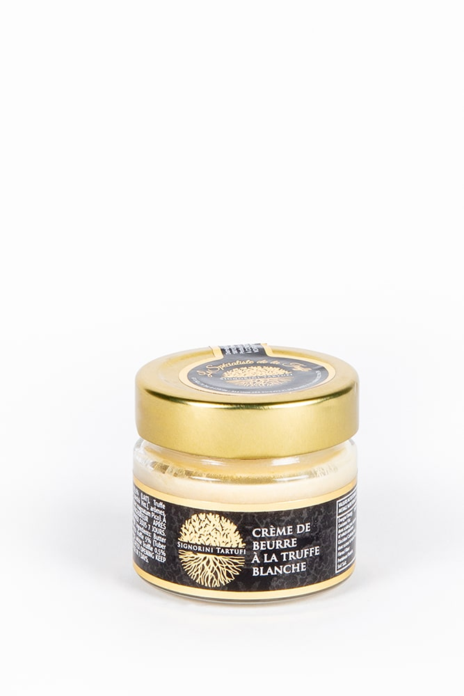 creme de truffe-beurre truffe-truffe blanche-signorini tartufi