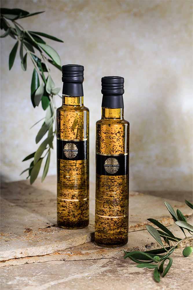 huile de truffe-huile paillette-signorini tartufi-signorini-tartufi