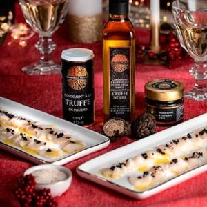 saint jacques truffe recette