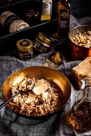 risotto truffe-recette truffe-signorini tartufi