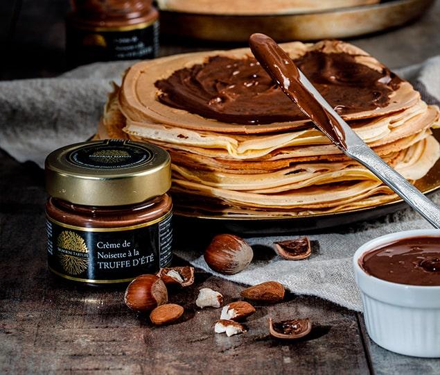 creme de truffe au chocolat