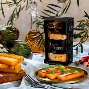 frites de polenta à la truffe
